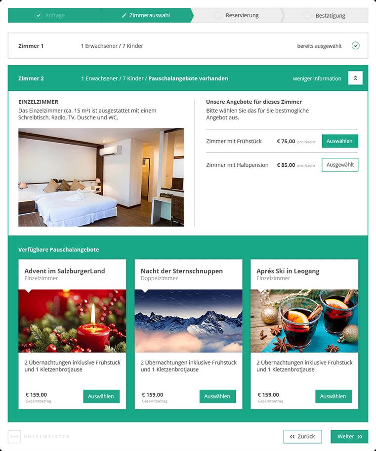 Hotelmeister - Cloud Hotelsoftware - Online Buchung