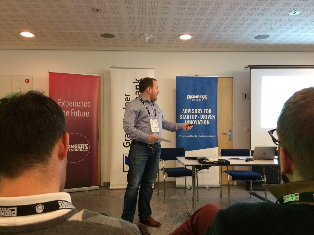 Hotelmeister Hotelsoftware - Hackathon St. Moritz - Start-up Pitch Peter Rainer