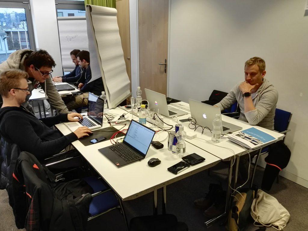 Hotelmeister Hotelsoftware - Hackathon St. Moritz - Das Team